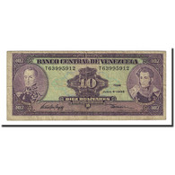 Billet, Venezuela, 10 Bolívares, 1995-06-05, KM:61d, B+ - Venezuela
