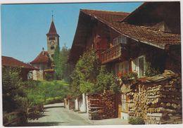 Suisse  Dorfpartie In Brienz - Switzerland