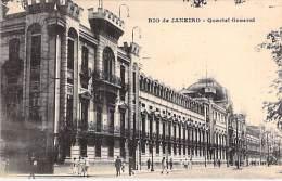 BRASIL Brazil  - RIO DE JANEIRO :  Quartel General - CPA - SUDAMERICA South America Brésil - Rio De Janeiro