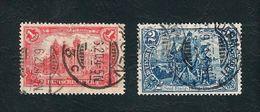 DEUTSCHES REICH 1902 - Soggetti Diversi - 1 M /2 M,- Mi:DR 78-79 - Germania