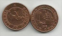 Liberia 1 Cent 1972. UNC - Liberia