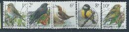 """BELGIQUE : Y&T (o) N° 2457-2461 """" Oiseaux Divers """" - 1985-.. Birds (Buzin)"""