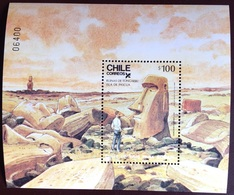 Chile 1986 Easter Island Minisheet MNH - Cile