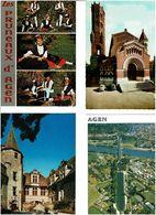 47 / LOT & GARONNE /  Lot De 90 Cartes Postales Modernes écrites - 5 - 99 Postales