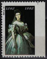 Empress Queen Elisabeth Of Austria Hungary KuK K.u.K Habsburg LABEL CINDERELLA VIGNETTE / Dress / MNH - Royalties, Royals
