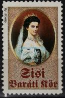 Empress Queen Elisabeth Of Austria Hungary KuK K.u.K Habsburg LABEL CINDERELLA VIGNETTE / Dress / MNH 1990's - Austria