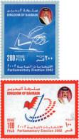 Ref. 122602 * NEW *  - BAHRAIN . 2002. PARLIAMENT ELECTIONS. ELECCIONES AL PARLAMENTO - Bahrain (1965-...)