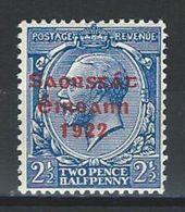 Ireland SG 56, Mi 29 * MH - 1922-37 Stato Libero D'Irlanda
