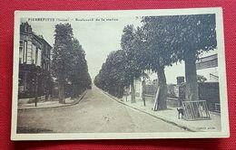 Pierrefitte - Boulevard De La Station - 2 Scans - Pierrefitte Sur Seine