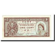 Billet, Hong Kong, 1 Cent, 1961-1971, KM:325a, SUP - Hong Kong