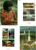 973 / GUYANE  /  Lot De 45 Cartes Postales Modernes écrites - Cartes Postales