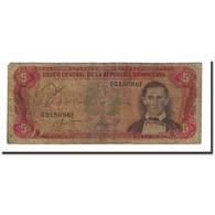 Billet, Dominican Republic, 5 Pesos Oro, 1987, KM:118c, B+ - Dominicaine
