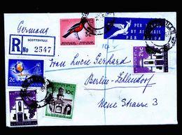 A5320) Südafrika South Africa R-Brief Scottsville 19.10.61 N. Berlin / Germany - Südafrika (1961-...)