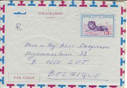 "AEROGRAMME 13 Fr  "" REPUBLIQUE DU BURUNDI "" 1975 BUJUMBURA . - Burundi"