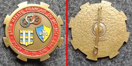 Insigne Badge Moto 8° Rallye Français Du MC-MCI à Vichy 1980 - Motos