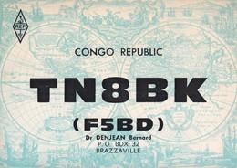 CARTOLINA - POSTCARD - CONGO - BRAZZAVILLE - RADIO AMATORI - Brazzaville