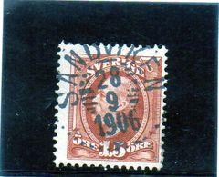 B - 1891 Svezia - Re Oscar II - Suède