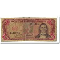 Billet, Dominican Republic, 5 Pesos Oro, 1987, KM:118c, TB - Dominicaine