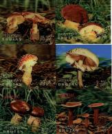 Ref. 34962 * NEW *  - BHUTAN . 1973. MUSHROOMS. SETAS - Bhután
