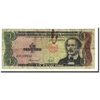 Billet, Dominican Republic, 1 Peso Oro, 1988, KM:126a, B+ - Dominicaine