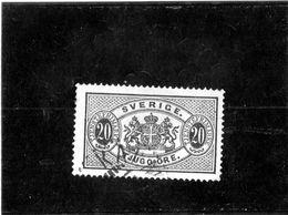 B - 1891 Svezia - Stemma E Cifra - Service