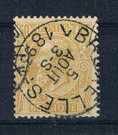 Belgien 1884 Mi.Nr. 45 Gestempelt - 1884-1891 Léopold II