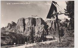 Italie,italia,il Gruppo Di Sella,dolomites,vallée De Gardena ,badia,bolzano,bozen,croix En Bois - Bolzano (Bozen)