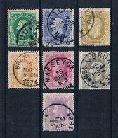 Belgien 1869 Mi.Nr. 27 - 33 Gestempelt - 1883 Léopold II