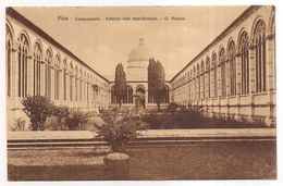 Pisa , Pise , Camposanto , Esterno Lata Meridionale  , G. Pisano - Pisa