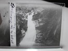 359 - Plaque De Verre - Gorges De La Diosaz, La Cascade - Glasplaten
