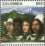 Colombia 2017 ** Sello. 90 Años Federacion De Cafeteros. See Desc. - Colombie