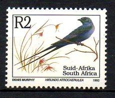 AFRIQUE DU SUD. N°822 De 1993. Hirondelle. - Swallows