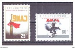 Albania 1985:  40° Anniversario Della Vittoria   Michel 2264/65 2 Val. Nuovi ** MNH Perfetti - Albania