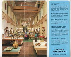 ADVERTISING BROCHURE FOR ILLUMS BOLIGHUS - COPENHAGEN - DENMARK - Advertising