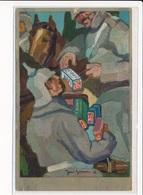 PUBLICITE : Leibniz Keks, Militaires - Tres Bon Etat - Advertising