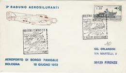 Bologna 1972 - 3° Raduno Aerosiluranti - Aeroporto Di Borgo Panigale - 6. 1946-.. Republic