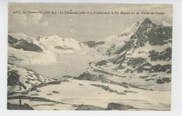 La Ciamarella - Le Chalanson , L'Albaron Le Pic Régaud Vus Du Glacier Des Evettes - France