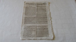 NAPOLEON - CAMPAGNE DE RUSSIE - LA GRANDE ARMEE - LA RUSSIE / LA POLOGNE - 1812 ( JOURNAL DE L'EMPIRE ) - Journaux - Quotidiens
