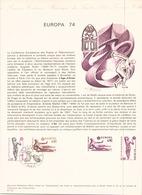 FRANCE DOCUMENT OFFICIEL DU 20 AVRIL 1974 PARIS EUROPA - Documents De La Poste