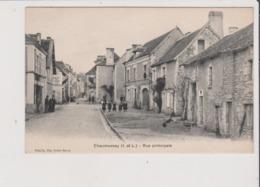CPA - CHAUMUSSAY - Rue Principale - Cachet Chaumussay Au Dos - Autres Communes