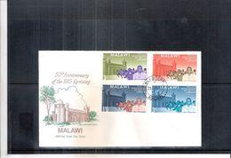 Malawi - 50ème Anniversaire Du Soulèvement De 1915 -  FDC Du Malawi - Série Complète  1965 (à Voir) - Malawi (1964-...)