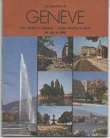 THIS WEEK IN GENEVA - 12-24th November 1972 - Exploration/Travel