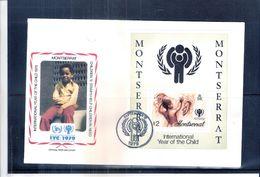 Monserrat - Année De L'Enfance - Bloc Sur FDC De Monserrat (à Voir) - Montserrat