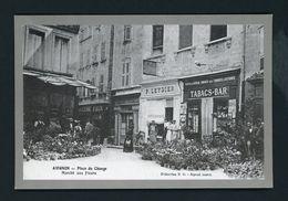 CPRepro - 84 - AVIGNON - PLACE DU CHANGE, MARCHÉ AUX FLEURS - - Avignon
