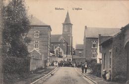 Blehen - L'Eglise (belle Animation, Fête Foraine Kermesse, Edit. Henri Kaquet) - Hannut