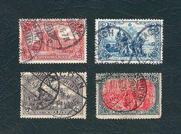 DEUTSCHES REICH 1902 - Soggetti Diversi - 1/2/3/5 M. - Mi:DR 78-81 - Germania