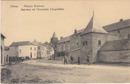 Glons - Maison Rameau - Berceau De L'Industrie Chapellière (animée, Edit Henri Kaquet) - Bassenge