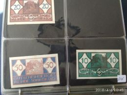 3 Notgeld Heller Vari Valori 1920  N. 316 - Austria