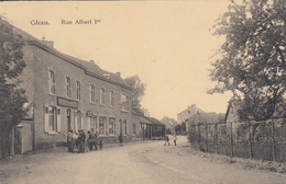 Glons - Rue Albert 1er (animée, Texaco, Edit Henri Kaquet, 1925) - Bassenge