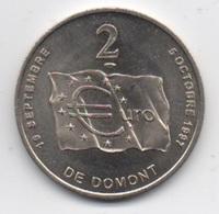 2 €URO De Domont : 19 Septembre - 5 Octobre 1997 : Monnaie De Paris : Domont A 900 Ans 1098-1998 - Euros Of The Cities